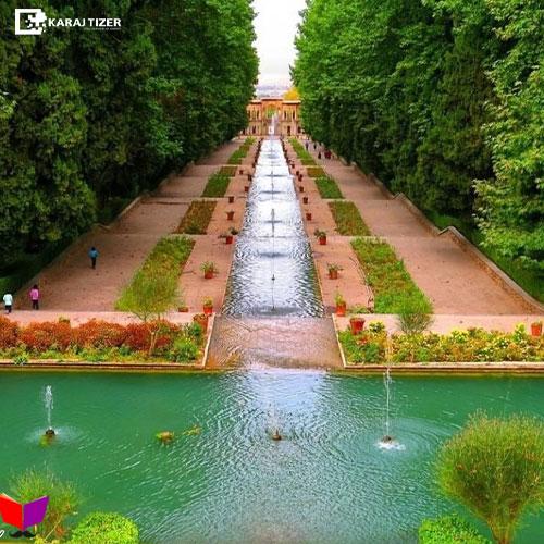 عکاسی در باغ ایرانی