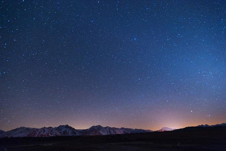 عکاسی منظره در شب