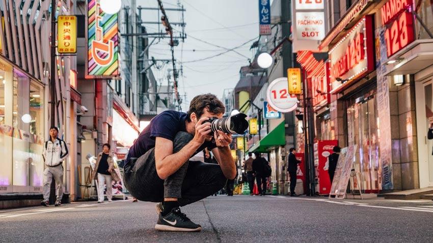 روشهای عکاسی خیابانی