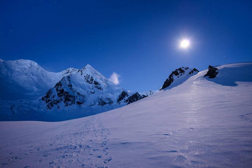 عکاسی در نور ماه