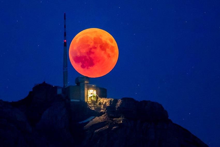 نحوه عکاسی از ماه گرفتگی