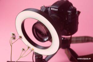 عکاسی صنعتی با رینگ لایت