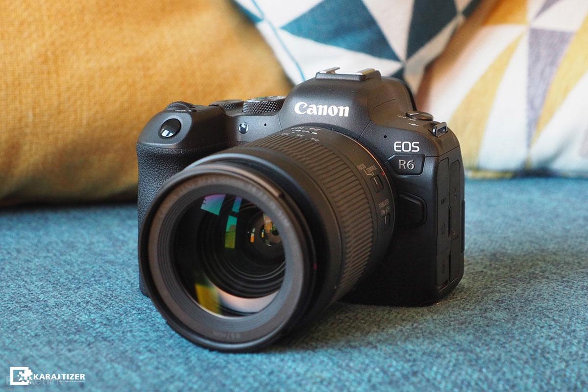 بررسی دوربین canon R6 برای عکاسی صنعتی