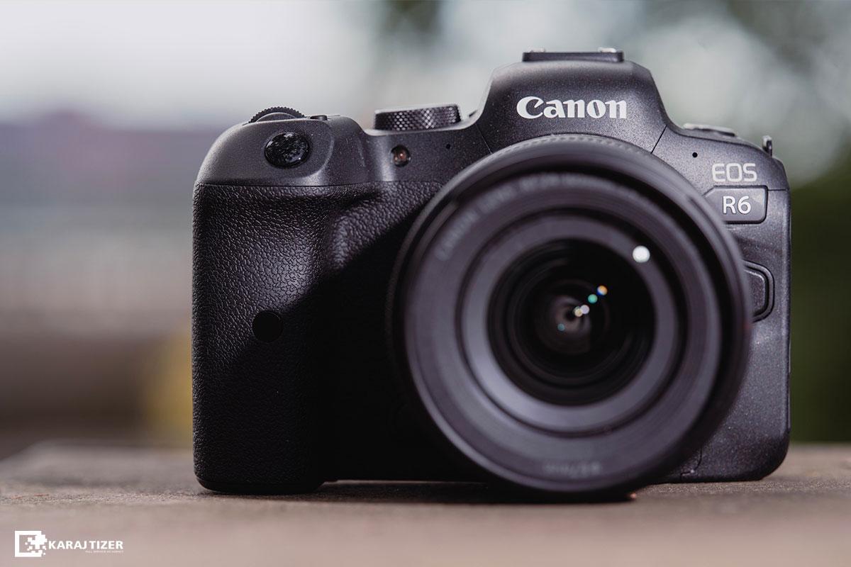 دوربین canon R6 برای عکاسی صنعتی