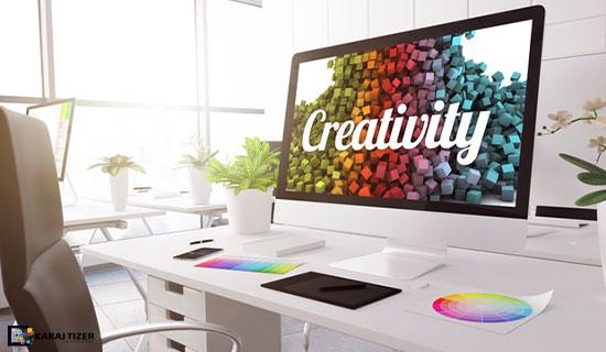 خلاقیت در طراحی لوگو