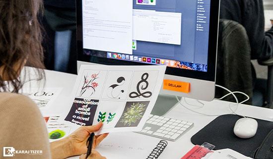 فرآیند طراحی لوگو